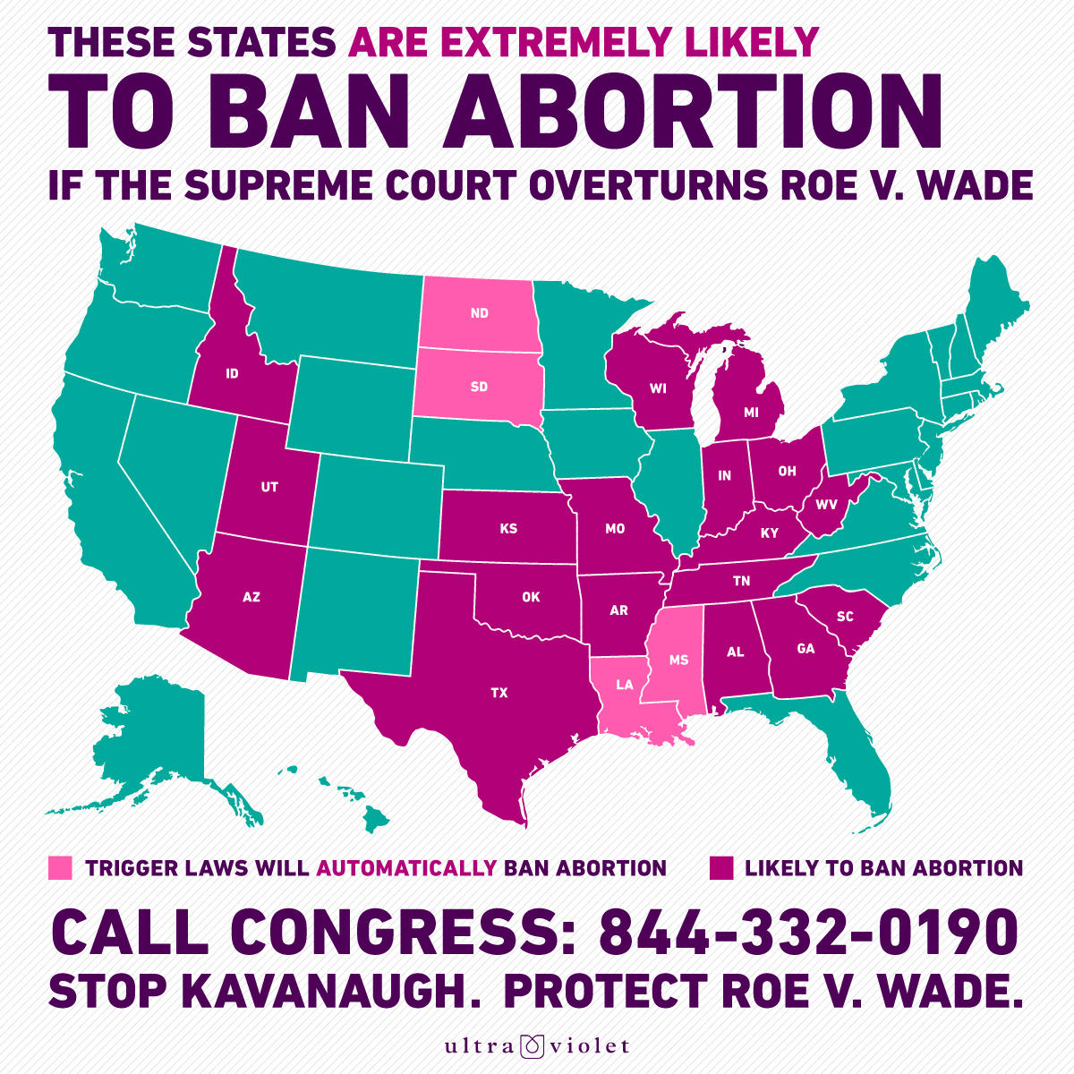 THIS is what overturning Roe v. Wade means