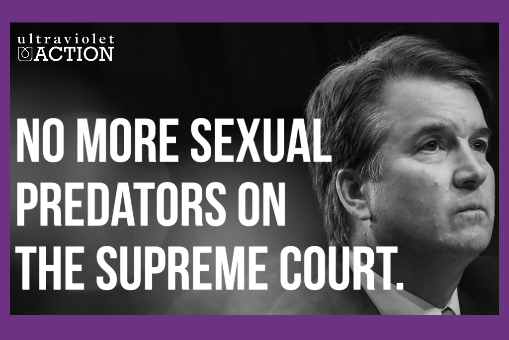 Emergency Petition: Stop sexual predator Kavanaugh