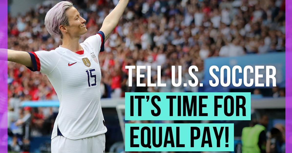 The US Women's Soccer Team Deserves Equal Pay | UltraViolet