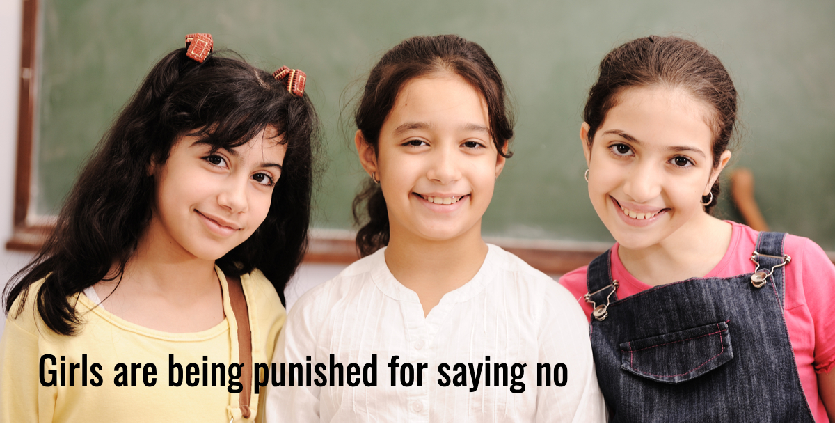 The school where girls can't say no