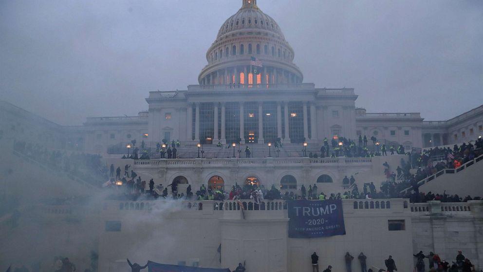 US Capitol under attack
