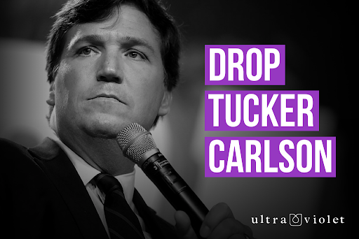 Tucker Carlson Graphic