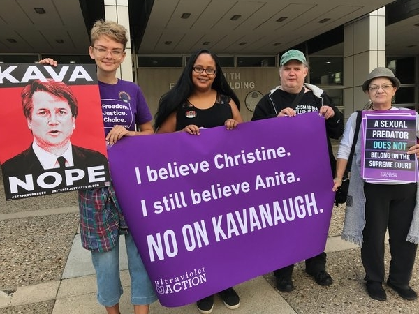 Our work to #StopKavanaugh